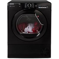 Hoover Link Hlc8Lgb 8Kg Condenser Sensor Tumble Dryer With One Touch - Black