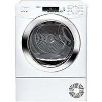 Candy Grand O Vita Smart Gvsc10Dcg 10Kg Condenser Tumble Dryer - White/Chrome