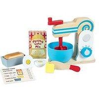 Melissa & Doug Melissa &Amp; Doug Wooden Make-A-Cake Mixer Set