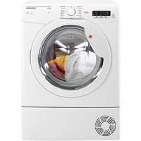 Hoover Link Hlc8Lg 8Kg Load Condenser Tumble Dryer With One Touch - White