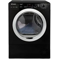 Candy Grand O Vita Smart Gvsh9A2Dceb 9Kg Load, Heat Pump Tumble Dryer - Black/Chrome