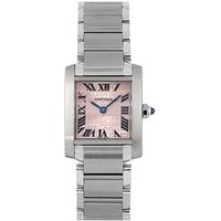 Cartier Cartier Pre-Owned Ladies stainless steel Tank Francaise. Pink MOP Dial Watch. Ref 2384, One Colour, Women