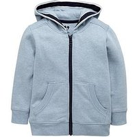 Mini V by Very Boys Hoodie – Blue, Blue, Size Age: 18-24 Months