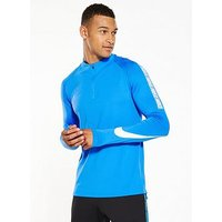 Nike Dry Squad Drill Top, Blue, Size 2Xl, Men