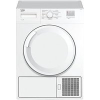 Beko Dtgc7000W 7Kg Load, Full Size Condenser Sensor Dryer - White