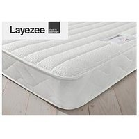 Product photograph showing Layezee Made By Silentnight Fenner Spring Memory Mattress
