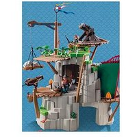 Playmobil Playmobil 9243 Dragons Berk Island Fortress With Firing Cannons