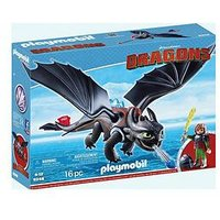Playmobil 9246 Dreamworks Dragons© Hiccup & Toothless With Led Light Effects By Playmobil