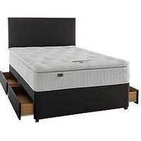 Silentnight Mia 1000 Geltex Pillowtop Divan With Storage Options
