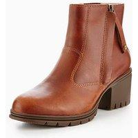 CAT Slant Brown Sugar Boot, Brown, Size 8, Women