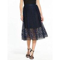 V By Very Premium Lace Full Skirt