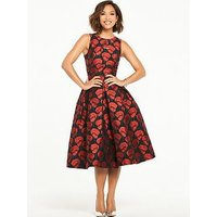Myleene Klass Jacquard Prom Dress, Multi, Size 10, Women