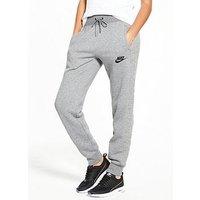 Nike Sportswear Quilted Jog Pant - Grey Heather , Grey Heather, Size L, Women