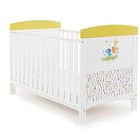 Obaby B Is for Bear Happy Safari Cot Bed, One Colour
