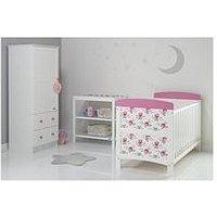 Obaby Cottage Rose 3 Piece Furniture set, One Colour
