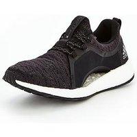 adidas Pureboost X - Black , Black, Size 7, Women