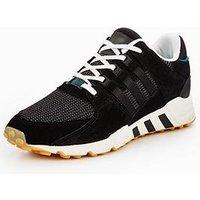 adidas Originals EQT Support - Black , Black, Size 4, Women