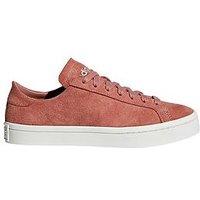 adidas Originals Courtvantage, Pink, Size 9, Women