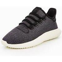 adidas Originals Tubular Shadow - Black , Black/Black, Size 4, Women