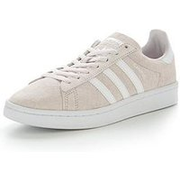 adidas Originals Campus - Pink , Pink, Size 4, Women