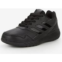 adidas AltaRun Childrens Trainers, Black/Black, Size 10