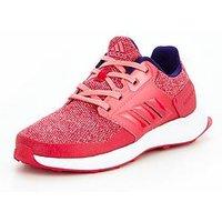 adidas RapidaRun Childrens Trainer, Pink, Size 5