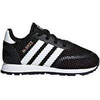 adidas Originals N-5923 junior trainer, Black, Size 4