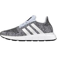 adidas Originals Adidas Originals Swift Run Junior Trainer, Blue/White, Size 4