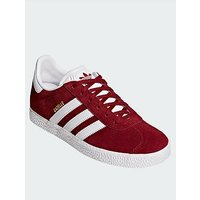 adidas Originals Adidas Originals Gazelle Junior Trainer, Burgundy, Size 4