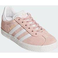 adidas Originals Adidas Originals Gazelle Childrens Trainer, Pink, Size 13