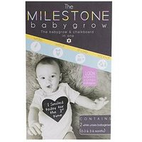 Baby Bundle The Milestone Baby Grow 0-6months, One Colour