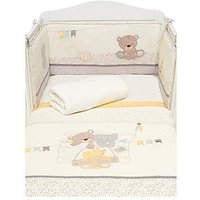 Mothercare Teddy's Toy Box Bed in a Bag, Beige