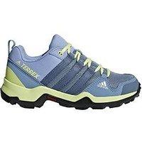 adidas Terrex AX2R K Childrens Trainer, Grey/Yellow, Size 11