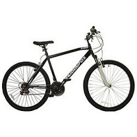 Muddyfox Raider Hardtail Mens Mountain Bike 19 Inch Frame, Black, Men