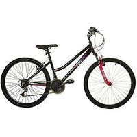 Muddyfox Life Hardtail Ladies Mountain Bike 15 Inch Frame, Black/pink, Women