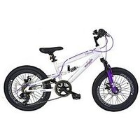 Muddyfox Hawaii Dual Suspension Girls Mountain Bike 20 Inch Wheel