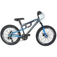 Muddyfox Idaho Dual Suspension Boys Mountain Bike 24 Inch Wheel
