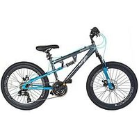 Muddyfox Nebraska Dual Suspension Girls Mountain Bike 24 Inch Wheel