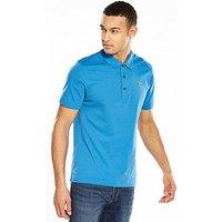 Lacoste Sport Polo, Blue, Size 8, Men