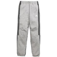Boys, adidas Older Boy Sid Fleece Jog Pant, Grey Heather, Size 7-8 Years