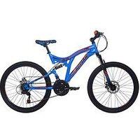 Rad Ripper Dual Suspension Boys Mountain Bike 24 Inch Wheel