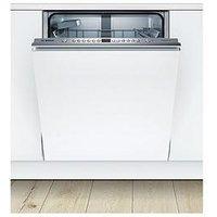 Bosch Serie 4 Smv46Ix00G 13-Place Integrated Dishwasher With Varioflex Basket - White