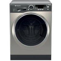 Hotpoint Ultima S-Line Rd966Jgd 9Kg Wash, 6Kg Dry, 1600 Spin Washer Dryer - Graphite