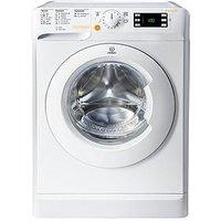 Indesit Xwde961680Xw 1600 Spin, 9Kg Wash, 6Kg Dry Washer Dryer - White