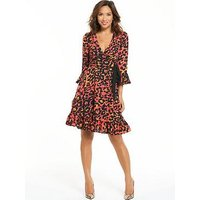 Myleene Klass Tea Dress, Print, Size 18, Women