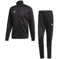 adidas Core Training Tracksuit, Black, Size S, Men