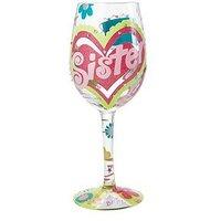 Lolita Lempicka Lolita Sister Wine Glass, Multi, Women