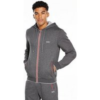 Hugo Boss Authentic Hooded Loungetop, Grey, Size L, Men