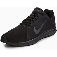 Nike Downshifter 8, Black/Black, Size 7, Men