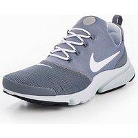 Nike Presto Fly, Grey/White, Size 8, Men